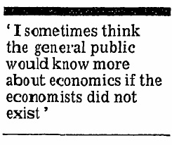 Francis Cripps - If Economists Did Not Exist