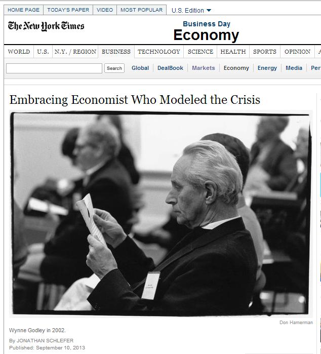 Wynne Godley - NYT