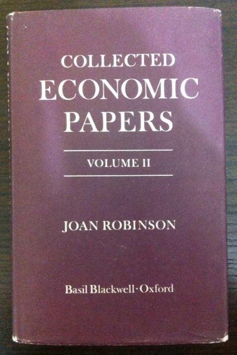 Joan Robinson - Collected Economic Papers, Volume II