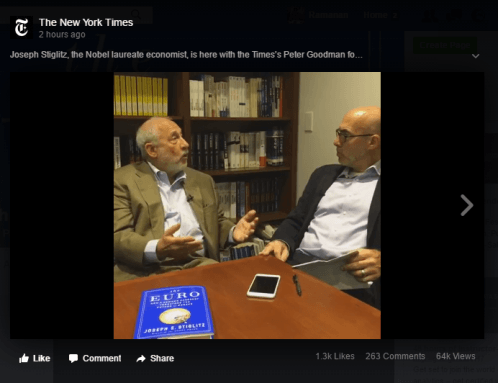 Joseph Stiglitz Interview